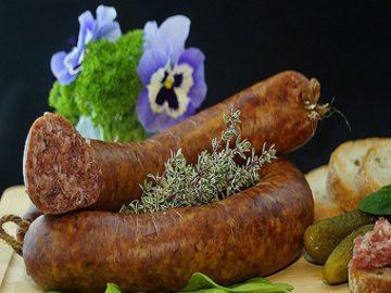 イタリアの自家製サルシッチャの画像