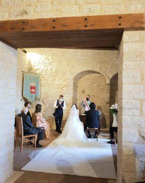 イタリアの結婚式の画像